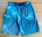 2012Mens Swim Surf Boardies Shorts Boardshorts Blue Size 34