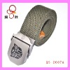 Aolly buckle polycotton belt