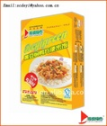 Instant rice,stewed duck with soyabean
