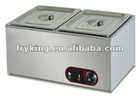 Electric 2-tank bain marie(stainless steel)