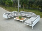 3 seater And 1 Seater Sofa Outdoor Furniture White