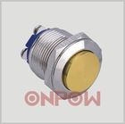 02 customized metal push button switch GQ16