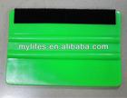 durable car squeegee blade scraper with soft felt