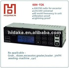 Dual band car radio, mini excavator radio all band with mp3 input