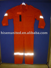 LONG SLEEVE TC BOILER SUIT,ORANGE BOILER SUITS
