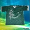 digital printing sublimated baseball jersey
