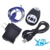 GSM Real-Time GPS Tracker Bug with SOS Button (850/900/1800/1900MHz) Black