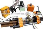 Portable type gas pressure rail welding machine
