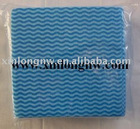 non-woven wipe, spunlace wipe, disposable wipe, cleaning cloth, household wiper