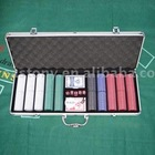 500pcs poker chips set