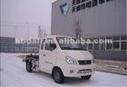 Electric detachable van truck