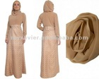 muslim long sleeve maxi dress latest Abaya Designs