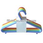 2012 Cheapest Plastic Color Clothes Hanger(1*10)