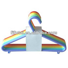2012 Cheapest Plastic Color Clothes Hanger(1*10)