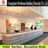 luxury reception desk/table/counter in office
