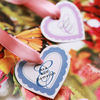 Bella Heart Shaped Hang Tags or Stickers