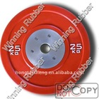 olympic rubber barbell weight plate