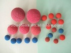 China rubber sponge ball size: 17mm, 19mm, 20mm, 21mm, etc