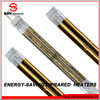 gold plated quartz infrared halogen heater parts with italian technology