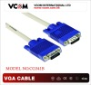 HD 15 Blue Molding VGA cable Male to Male