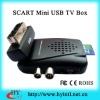 SCART Mini USB DVB-T TV Box