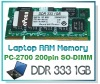 DDR 333 1GB Laptop RAM Memory