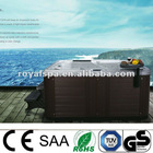 7 persons outdoor hot tub with jacuzzi bathtub