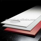 Red Solid decorative resin panels