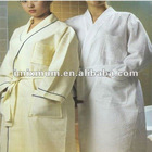 Hotel waffle cotton bathrobe in any color
