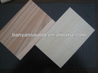 wood grain melamine particle board / melamine faced particle board