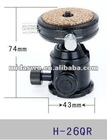 H-26QR platform ball head