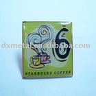 customized epoxy sticker metal badge
