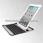 Factory wholesale price ,Aluminum Case Cover Wireless Bluetooth Keyboard USB Cable For Apple iPad 2 iPad3
