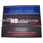 rubber foam bar mats