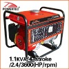 230V/50Hz/5.5HP/3600rpm generator