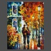 Pix2oils abstract bright color thick texture handmade oil painting AFTER THE DATE (buy directly)