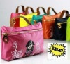 SC104 2012 HOT!! sale fashion embossed lady hand make up bag