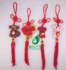 Cartoon Animals Polymer Clay Chinese Knot