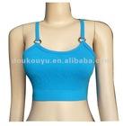 ladys seamless plain color sport bra