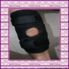 CE approved Open Patella Neoprene Velcro Knee Brace Stablizer