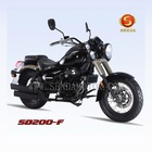 200cc cruiser chopper motorcycle SD200-F