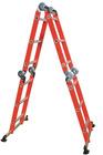 Colorful 4x3 Aluminum Multi Purpose Ladder
