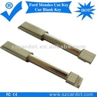 Ford mendeo cut keys,popular model,international standard dimention,brass material