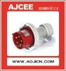 electrical flush plug , industrial plug 220V, electircal plug