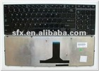 New Laptop keyboard for Satellite M640 M645 Black US - V114502CS1