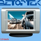 Car dashboard monitor, 3.5 inch car lcd monitor hot selling