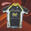 full zip sublimation polyester cycling jersey