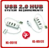 hot sale 4 port USB HUB