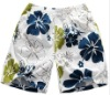 men's beach board short, flower shorts
