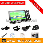 4.3'' in car black box with gps logger & car DVR Combo